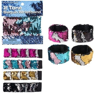 Flip Two Tone Sequin Bracelet