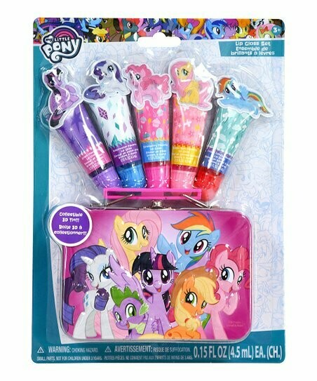 My Little Pony Lip Gloss and Tin