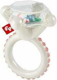 Rock n  Rattle Teether Ring- Fisher Price