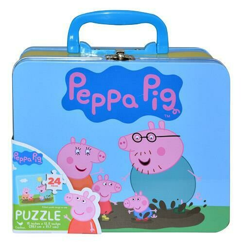 Peppa Pig Lunch Tin w/Puzzle