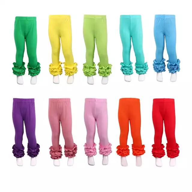 Ruffle Pants-  I