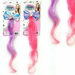 Unicorn Bow w/Hair Extension