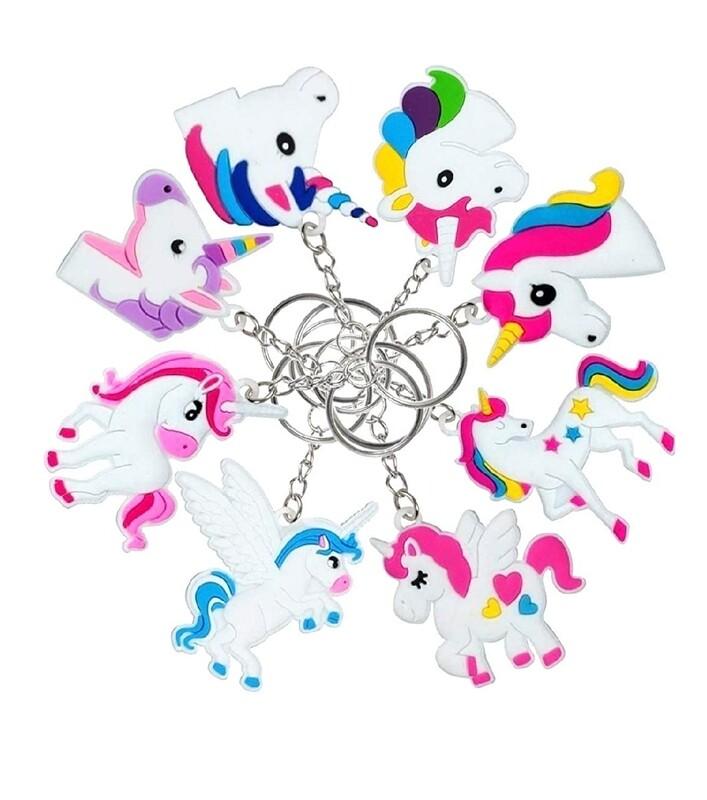Unicorn Keychain-Randomly Selected