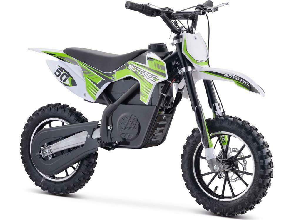 Mototec 24v 500w Electric Dirtbike