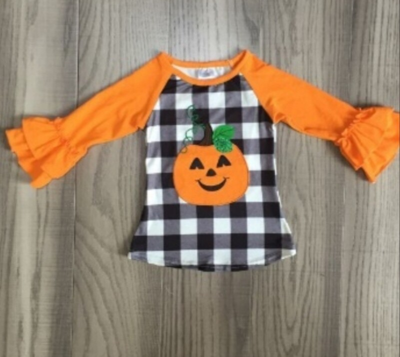 Happy-O'-Lantern Ruffle - I