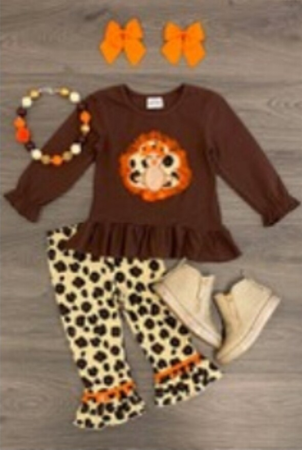 Leopard Fall Set 12m-18m