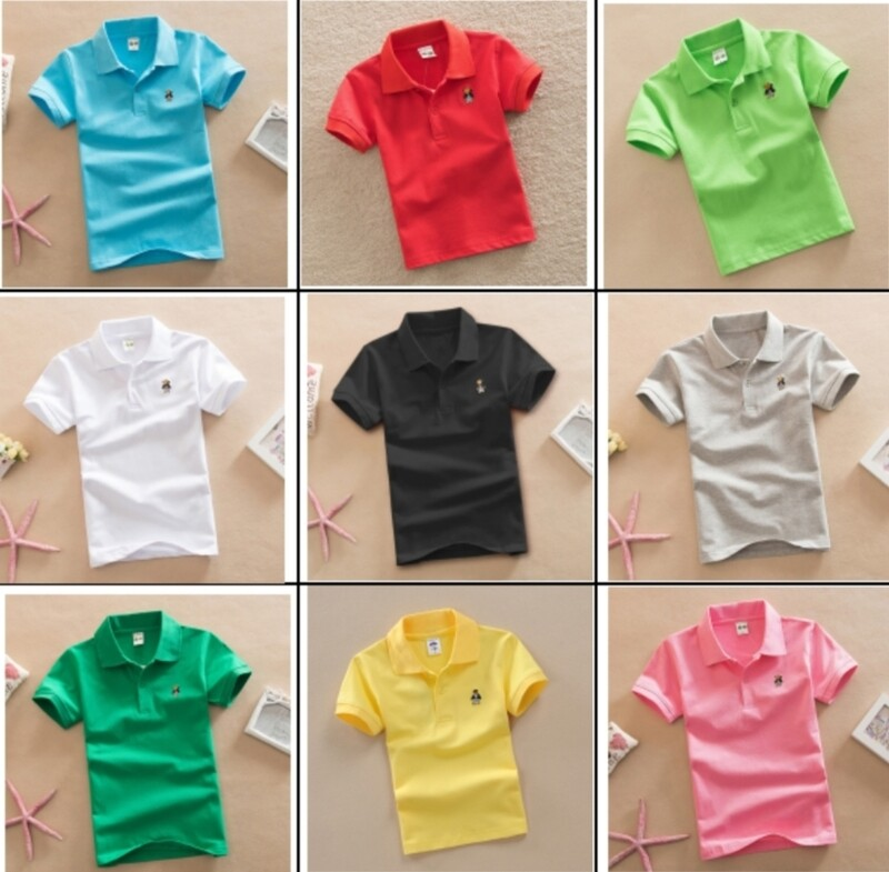 Solid Color Polo