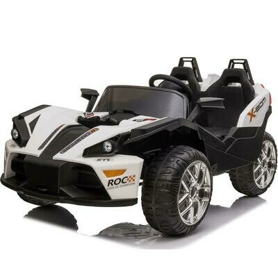 Mototec Slingshot 12v kids Car white (2.4 ghz RC)- IN STORE PICKUP ONLY