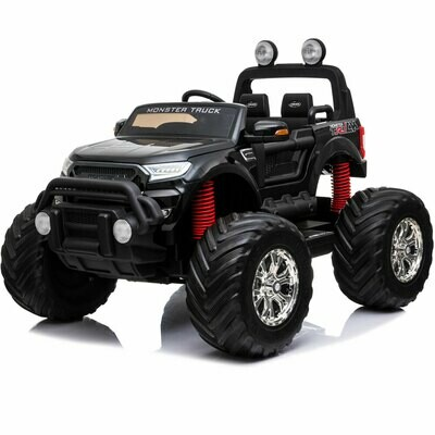 Mototec Monster Truck 4x4 12v black - IN STORE PICK UP ONLY!