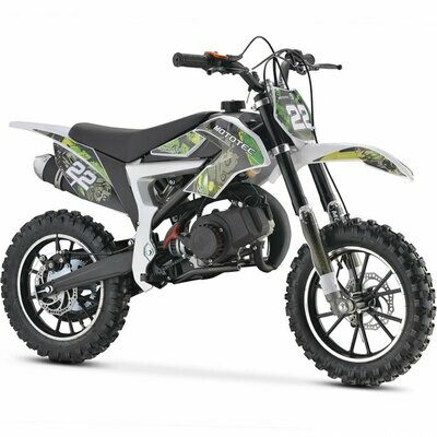 Mototec 50cc Demon Kids Gas Dirt Bike green