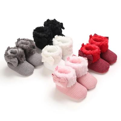 Velcro Fur Boots
