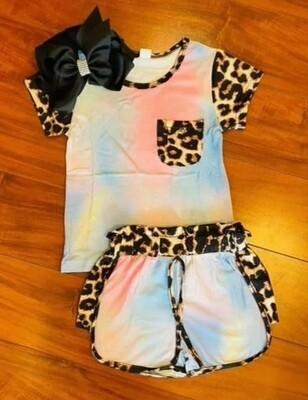 Leopard Tie Dye