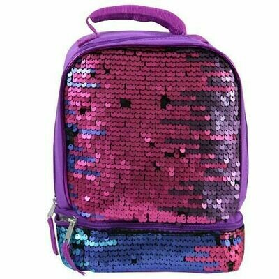 Double Sequins lunch bag