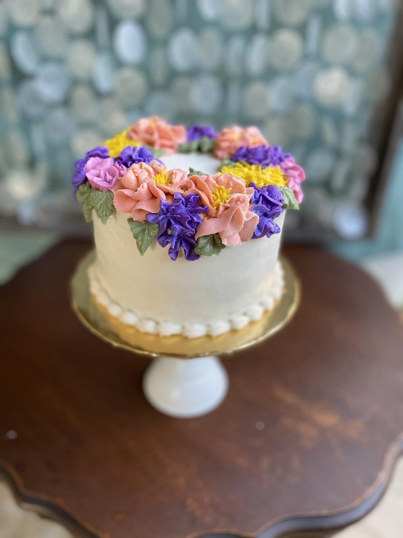 Flower Wreath Cake