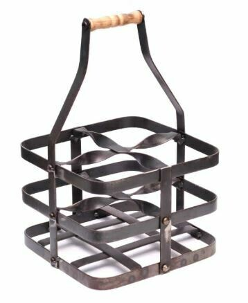 BOB METAL WINE CADDY
