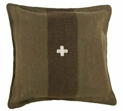 BOB SWISS ARMY PILLOW COVER 18x18