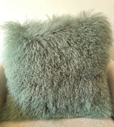 AUS TIBETAN DUNE SHEEP PILLOW 20x20