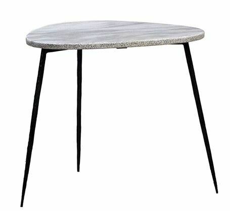 DOV MARBLE TOP SIDE TABLE