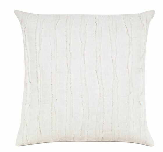 EAS IVORY LINEN PILLOW 20x20