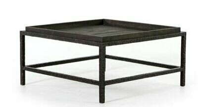 FHD IRON & WOOD COFFEE TABLE 30