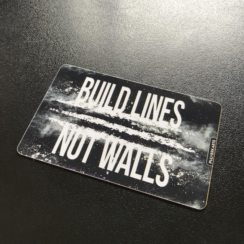 Pulverkarte: Build Lines not Walls