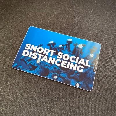Pulverkarte: Snort Social Distanceing