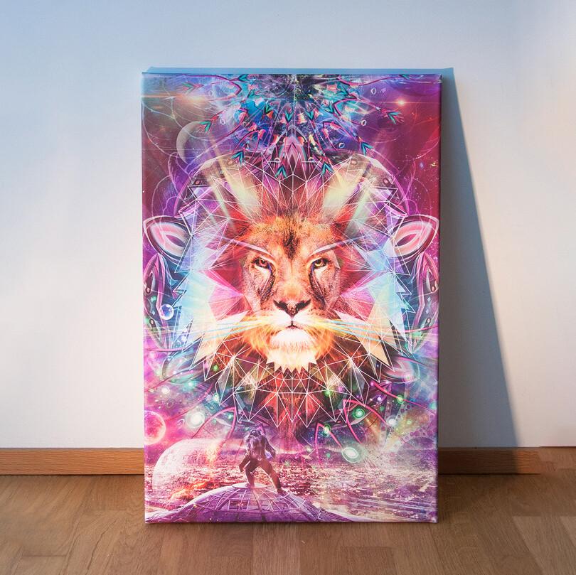 Lion Leinwand
