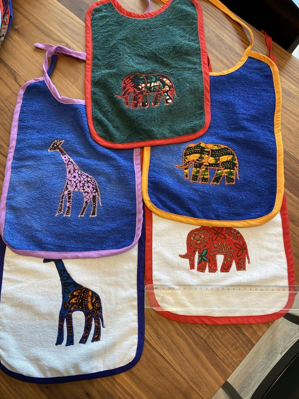 Esslätzli Zebra, Elefant, Giraffe
