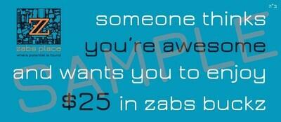 ZABS Gift Card