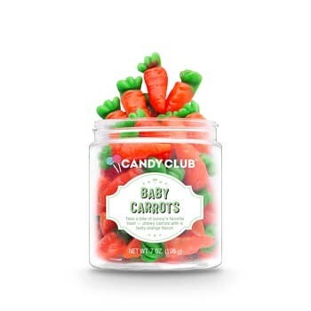 Baby Carrots Candy Club 7oz