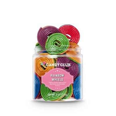 Rainbow Wheels Candy Club 6oz