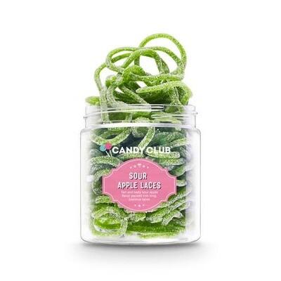Sour Apple Laces Candy Club 5oz