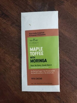 Maple Toffee with Moringa Elements