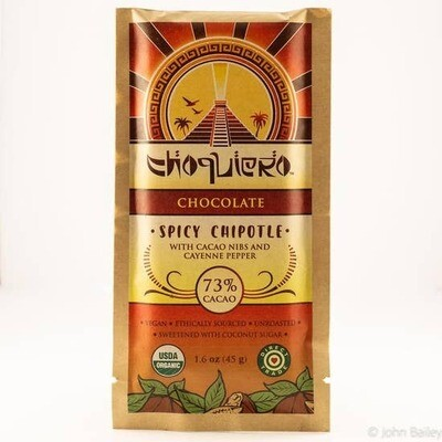 Spicy Chipotle Choruiero Chocolate