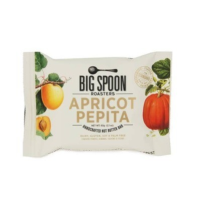 Big Spoon Apricot Pepita butter bar 60g