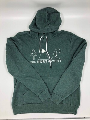 The North West Icon Hoodie Heather Forest $49.95