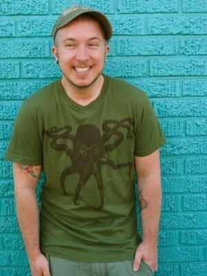 Octopus Unisex T-shirt $26.99