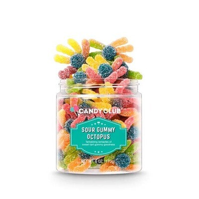 Sour Gummy Octopus 6oz