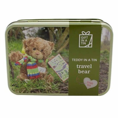 Travel Teddy Bear Kit in a Tin