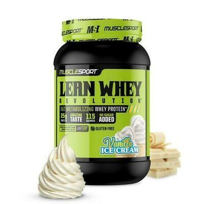 Muscle Sport Lean Whey 2LB Vanilla