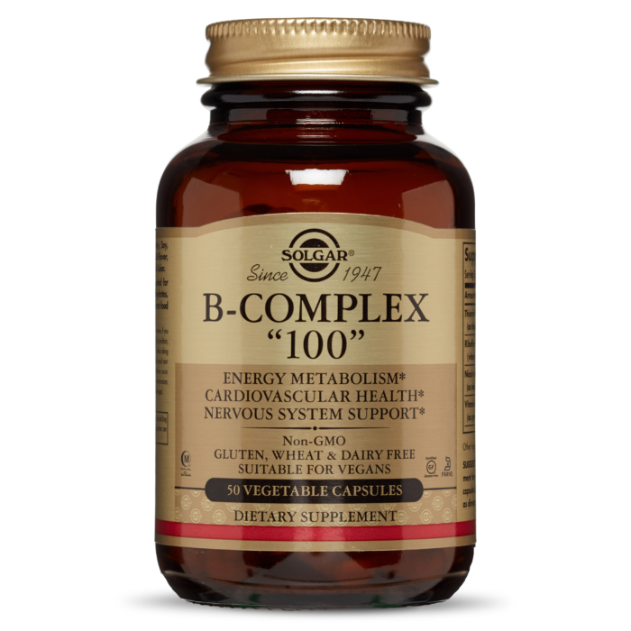 Solgar B-complex 100 50caps