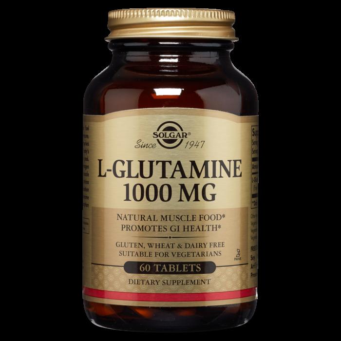Solgar L Glutamine Tabs 1000mg