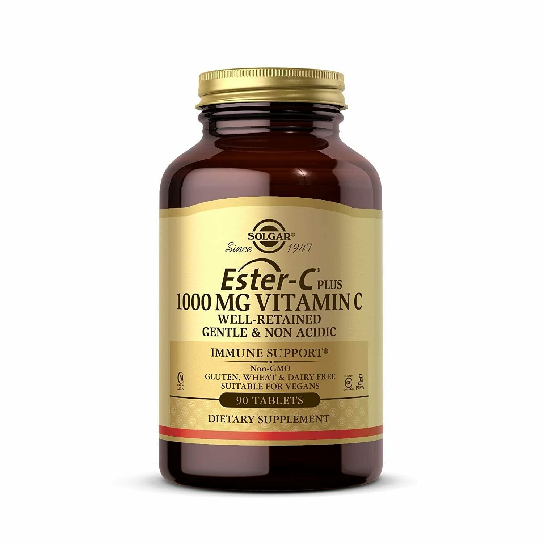Solgar Ester C 1000mg Vitamin C 90 Tablets