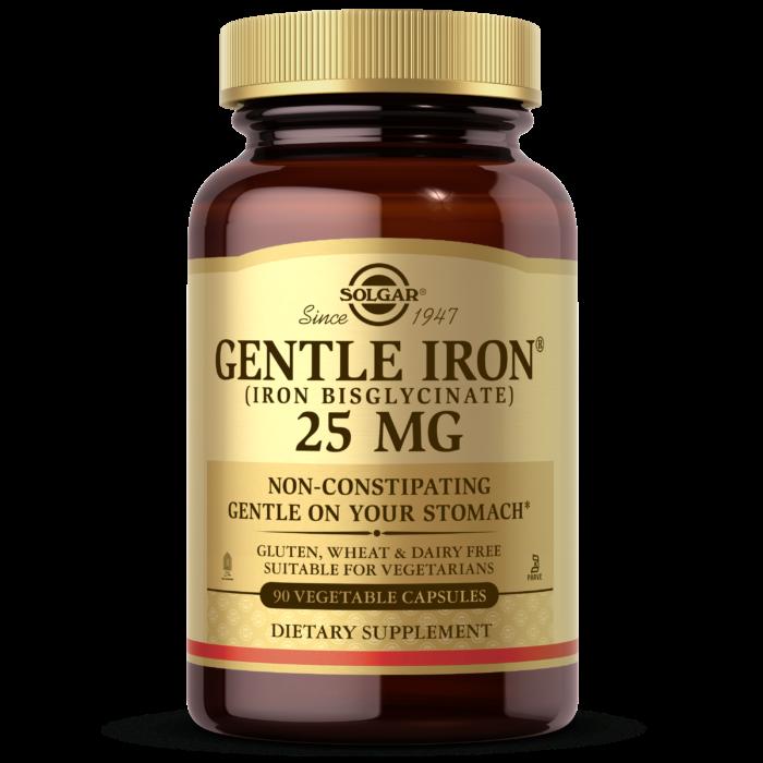 Solgar Gentle Iron 90 Veg Caps