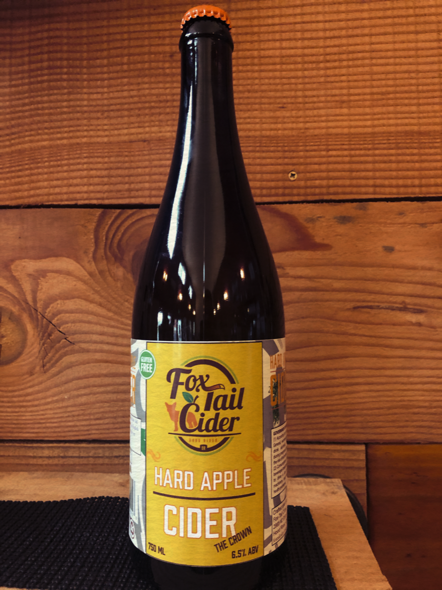 """""""The Crown"""" Hard Cider, 6.5%, 750 ml, English Style, Semi-Dry"""