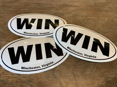 WIN Sticker