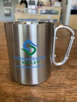 Shenandoah Valley Metal Carabiner Mug