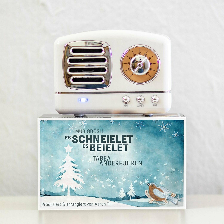 Weihnachts-Musigdösli «Es schneielet, es beielet»