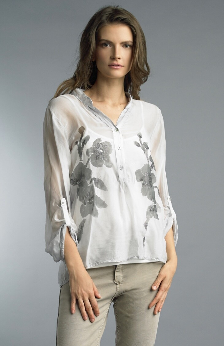 Tempo - 9299P - Top silk two piece