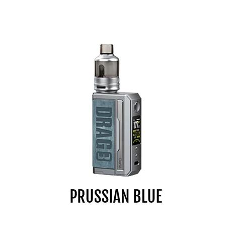 VOOPOO DRAG 3 POD KIT - PRUSSIAN BLUE